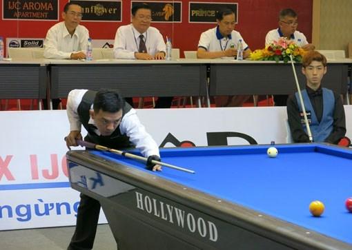 Famosos billaristas competiran en torneo de carambola de tres bandas en Vietnam hinh anh 1