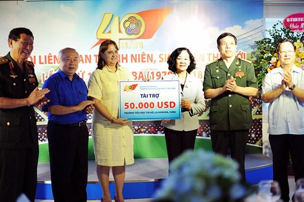 Vietnam y Cuba robustecen solidaridad bilateral hinh anh 1