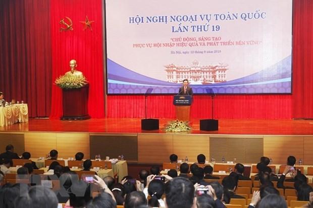 Promueven rol de la diplomacia en desarrollo socioeconomico de localidades vietnamitas hinh anh 1