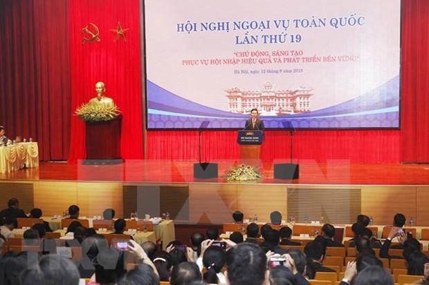 Vicepremier vietnamita reitera necesidad de renovar pensamientos sobre integracion global hinh anh 1