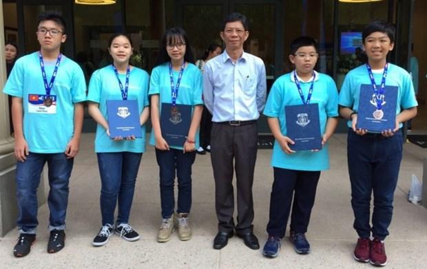 Vietnam gana una medalla de plata en Olimpiada Internacional de Matematicas 2018 hinh anh 1