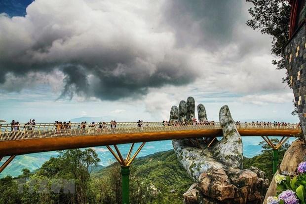 India quiere construir enlaces simbolicos para el turismo como el Puente Dorado en Vietnam hinh anh 2