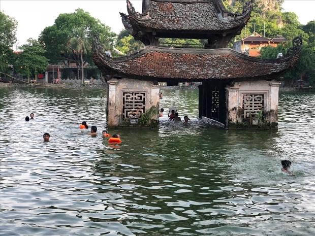 Piscina natural ayuda a reducir numero de ninos victimas de accidentes relacionados con el agua en Vietnam hinh anh 1