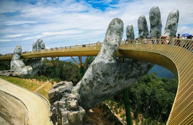 India quiere construir enlaces simbolicos para el turismo como el Puente Dorado en Vietnam hinh anh 6