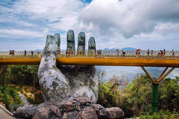 India quiere construir enlaces simbolicos para el turismo como el Puente Dorado en Vietnam hinh anh 4