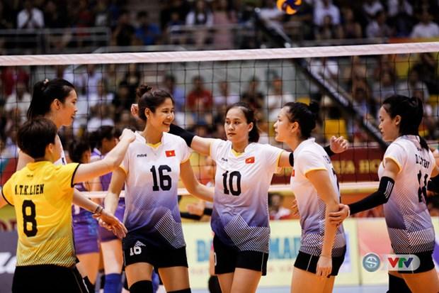 Vietnam se corona en Torneo internacional de voleibol femenino hinh anh 1