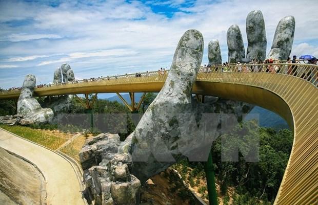 India quiere construir enlaces simbolicos para el turismo como el Puente Dorado en Vietnam hinh anh 1