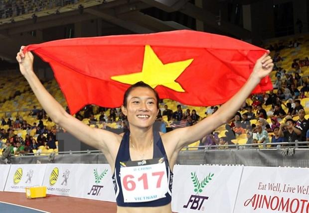 Atletismo vietnamita espera conseguir titulos en juegos continentales hinh anh 1