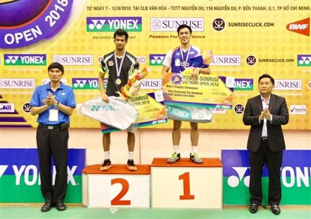 Cierran torneo internacional de badminton en Ciudad Ho Chi Minh hinh anh 1