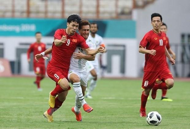 Seleccion de futbol de Vietnam debuta con facil victoria ante Pakistan en ASIAD 2018 hinh anh 1