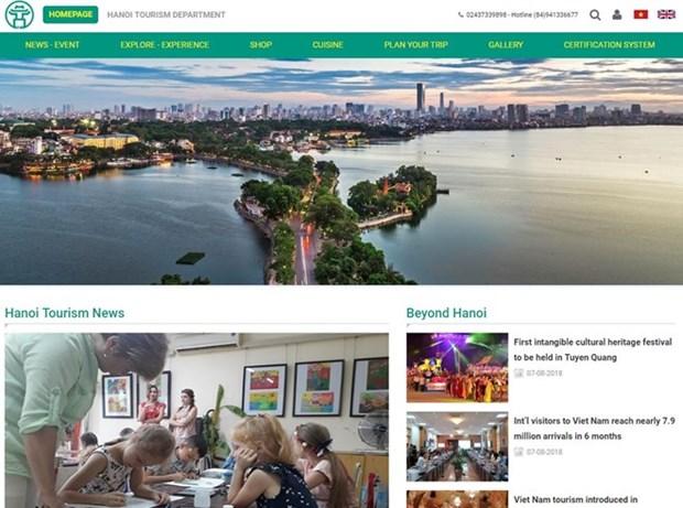 Capital de Vietnam lanza portal de turismo hinh anh 1