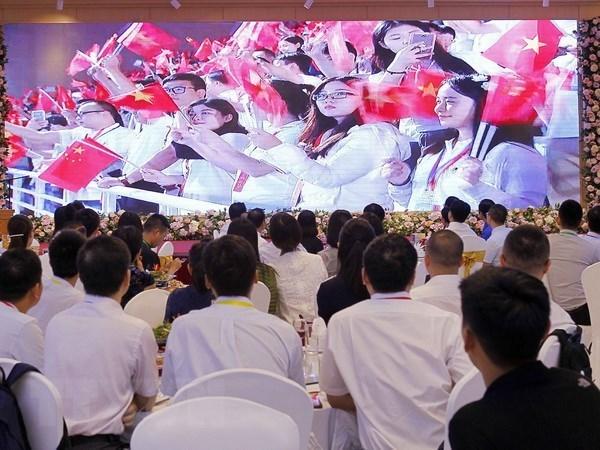 Inauguran XVIII Encuentro Juvenil de Amistad entre Vietnam y China hinh anh 1