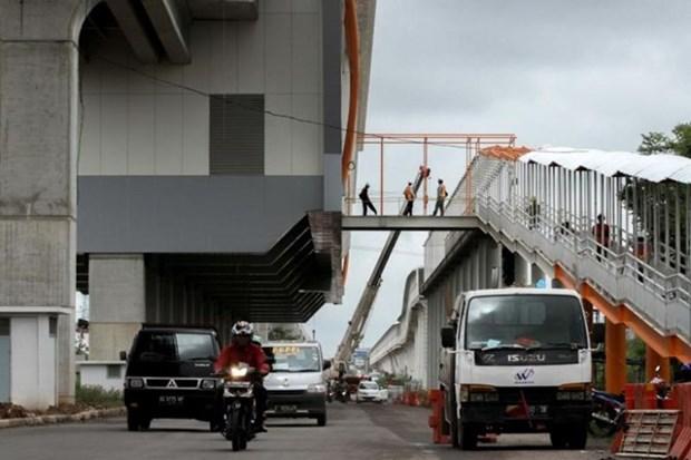 ASIAD 2018: Indonesia acelera garantizar funcionamiento de transito rapido ligero hinh anh 1