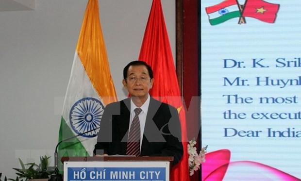 Conmemoran en Ciudad Ho Chi Minh aniversario 72 dle Dia de la Independencia de la India hinh anh 1