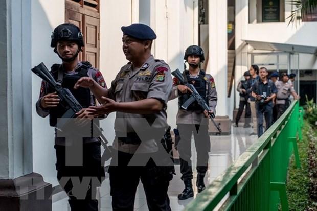 Indonesia arresta a terroristas vinculados al Estado Islamico hinh anh 1