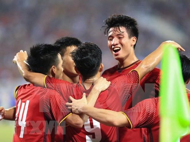 Vietnam buscara tres puntos en su primer partido de futbol en ASIAD 2018 hinh anh 1