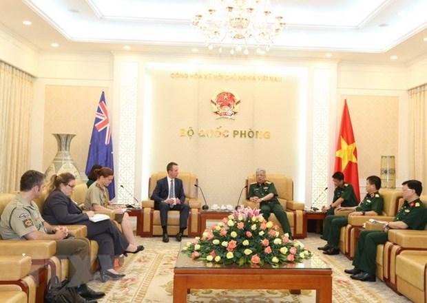 Vietnam y Australia promueven cooperacion en defensa hinh anh 1