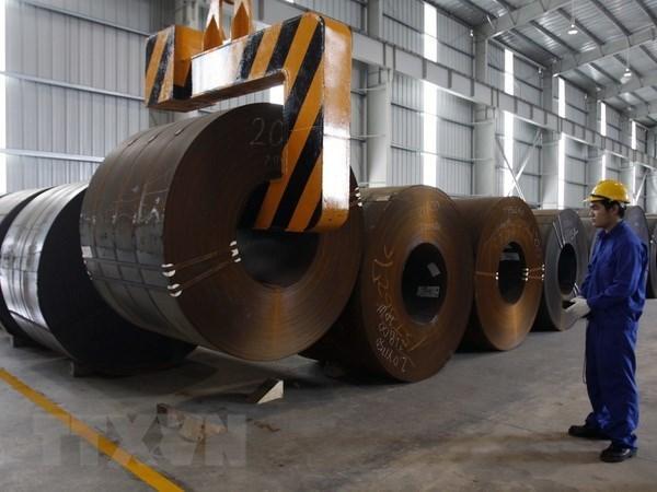 Sector siderurgico de Vietnam en medio de la guerra comercial China- Estados Unidos hinh anh 1
