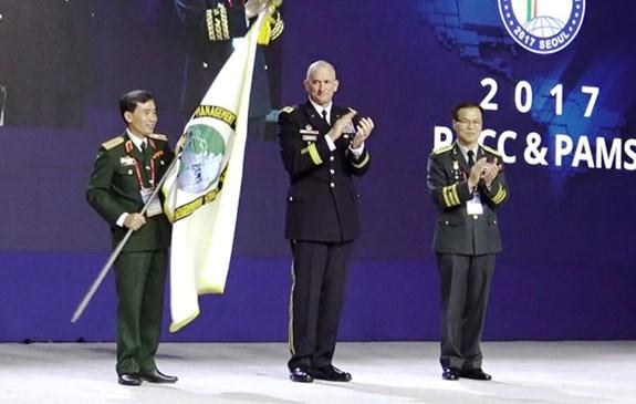 Vietnam y EE.UU presidiran seminario de gestion de ejercitos pacificos hinh anh 1