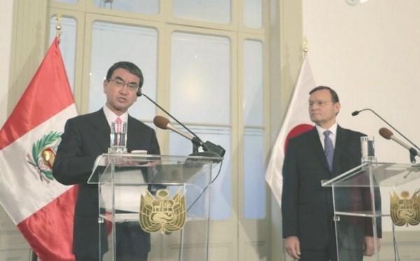 Japon y Peru promueven la implementacion pronta del CPTPP hinh anh 1