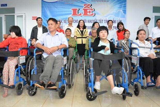 Agencia estadounidense financia proyectos auxiliares para discapacitados en Vietnam hinh anh 1