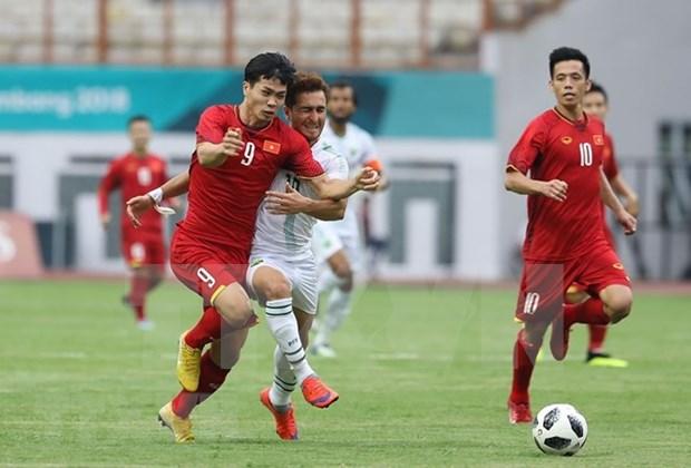 Equipo de futbol vietnamita propone entrar a proxima fase en ASIAD 2018 hinh anh 1