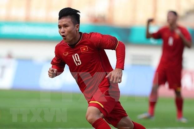 Prensa internacional elogia victoria de Vietnam ante Pakistan en ASIAD 2018 hinh anh 1