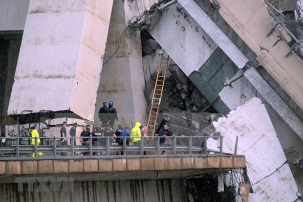 Vietnam expresa pesame a Italia por colapso de puente hinh anh 1