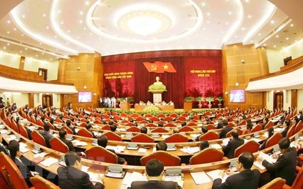Partido Comunista de Vietnam da instrucciones para optimizar el aparato politico hinh anh 1
