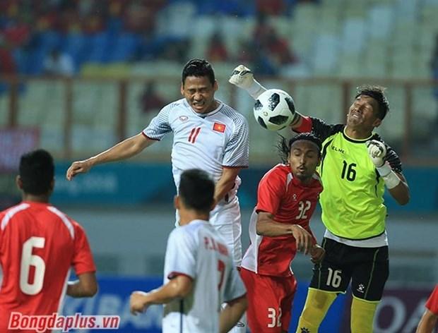 Vietnam vence a Nepal y avanza a la siguiente ronda de futbol en ASIAD hinh anh 1