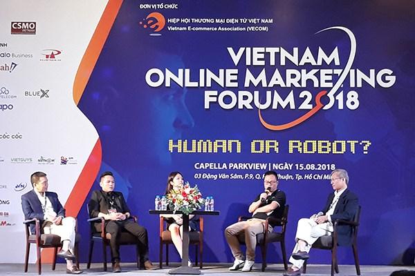 Actualizan en Vietnam tendencias mundiales de mercadotecnia en internet hinh anh 1
