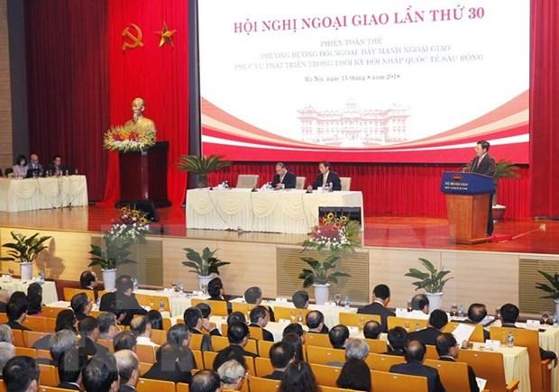 Empresas vietnamitas destacan rol de labor diplomatica en conexion con socios extranjeros hinh anh 1