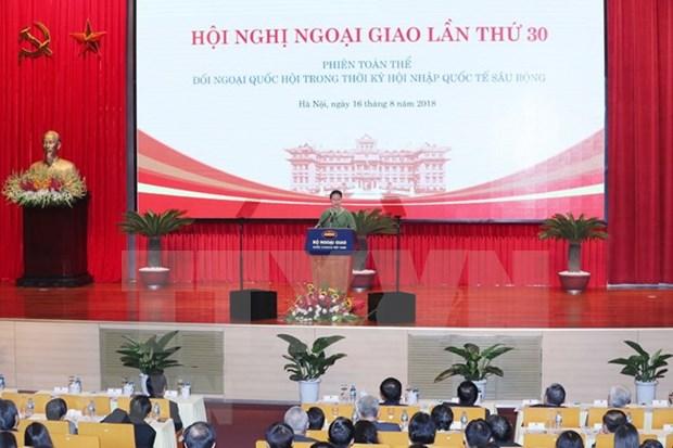 Analizan importancia de misiones diplomaticas del Parlamento para el desarrollo de Vietnam hinh anh 1