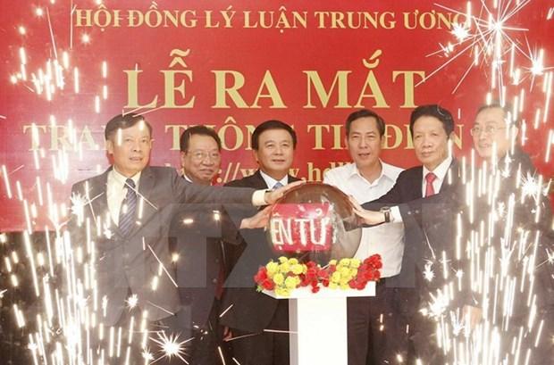 Consejo Teorico del Comite Central de Partido Comunista de Vietnam lanzo su sitio web hinh anh 1