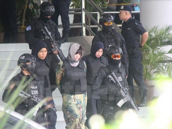 Corte malasia mantiene orden de detencion a sospechosa vietnamita por asesinato de norcoreano hinh anh 1