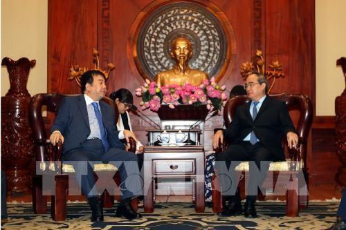 Ciudad Ho Chi Minh estimula inversion sudcoreana en zona urbana innovadora hinh anh 1