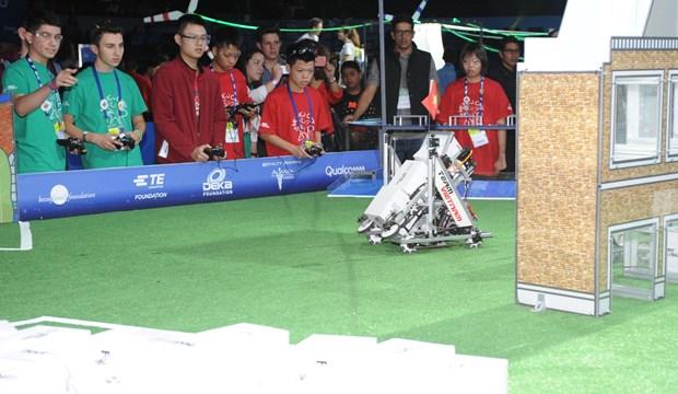Participa Vietnam en Mundial de Robotica en Mexico hinh anh 3