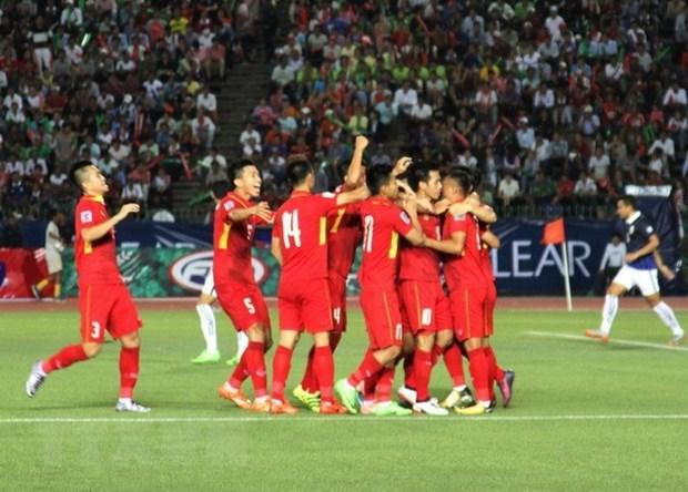 Futbol de Vietnam mantiene liderazgo en Sudeste Asiatico, segun ranking de FIFA hinh anh 1
