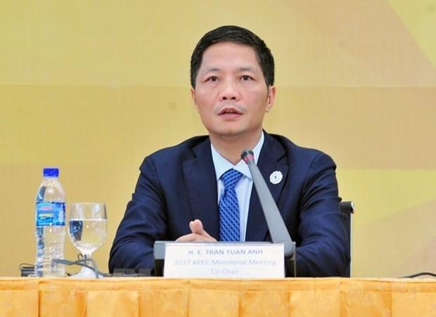 Ministro vietnamita de Industria y Comercio destaca trayectoria de desarrollo de la ASEAN hinh anh 1
