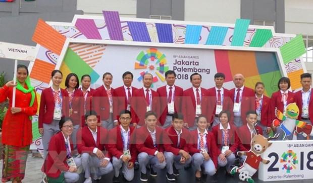 Delegacion vietnamita esta lista para ASIAD 2018 en Indonesia hinh anh 1