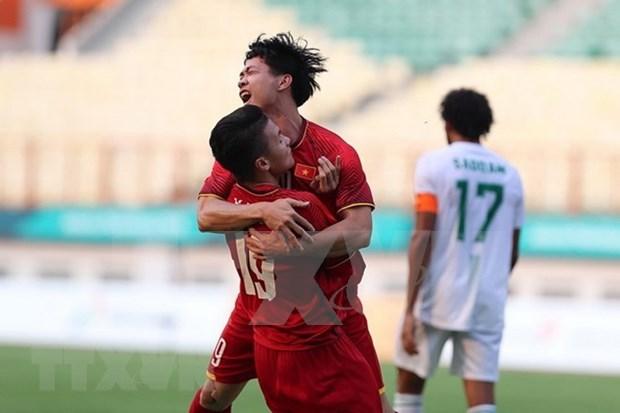 ASIAD 18: Vietnam disputara con Japon el domingo por liderazgo del grupo hinh anh 1