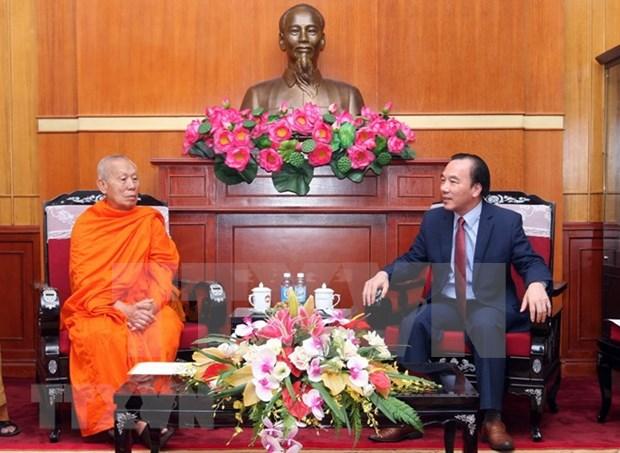 Laos y Vietnam buscan promover conexion budista hinh anh 1