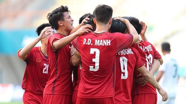 Medios de prensa japoneses aprecian exitos del equipo vietnamita de futbol en ASIAD18 hinh anh 1