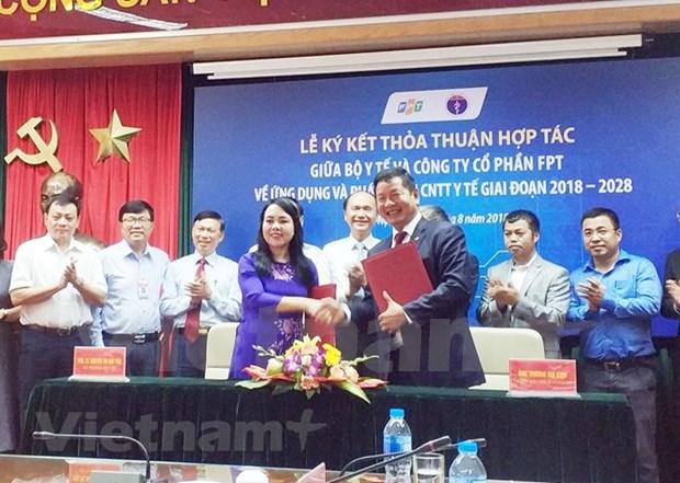 Sector de salud de Vietnam aplica tecnologia para mejorar servicios hinh anh 1
