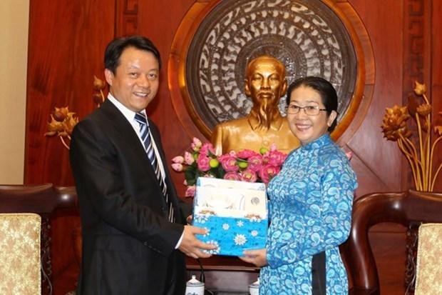 Jovenes comunistas de Vietnam y China enriquecen cooperacion bilateral hinh anh 1
