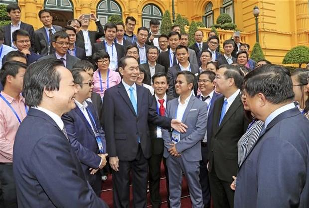 Destacan papel de intelectuales vietnamitas en ultramar para desarrollo nacional hinh anh 1