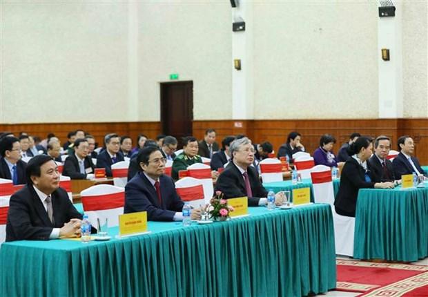 Concluye curso de capacitacion para miembros del Comite Central del PCV hinh anh 1