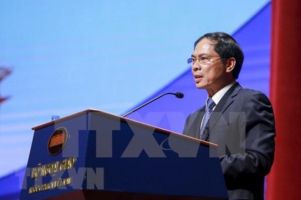 Resaltan logros de XXX Conferencia de Diplomacia de Vietnam hinh anh 1