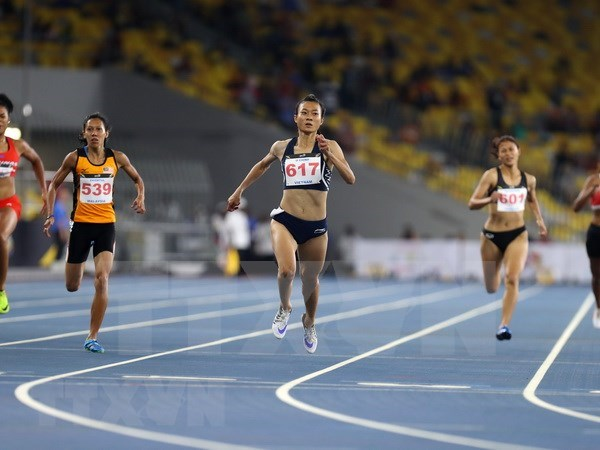Atletas vietnamitas por cumplir la meta de tres preseas doradas en ASIAD 2018 hinh anh 1