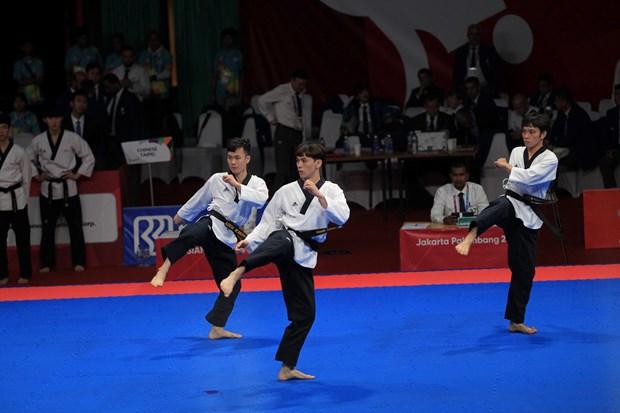 Taekwondo brinda a Vietnam primera medalla en Juegos Asiaticos hinh anh 1